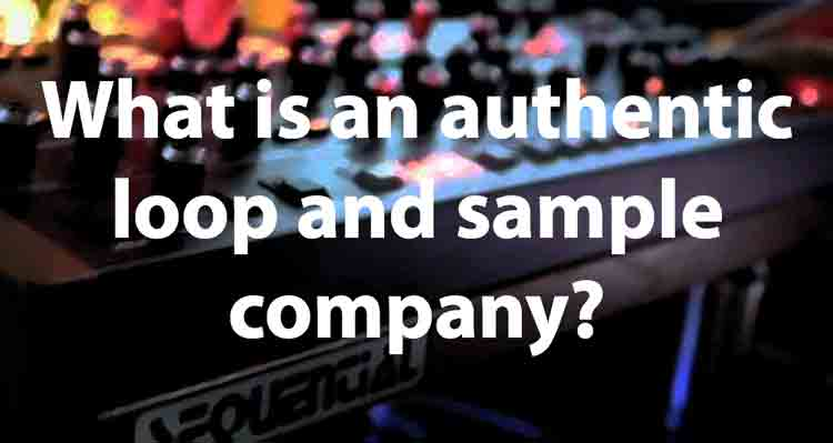 Loop company musicblip what is an authentic loop and sample company?