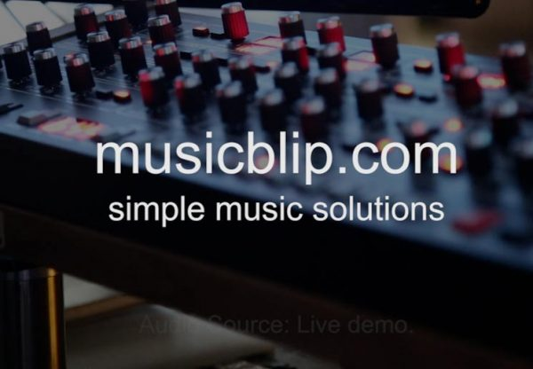Youtube video screenshot about musicblip loop company
