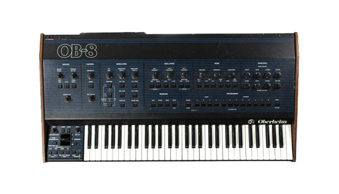 oberheim ob-8 analog synthesizer