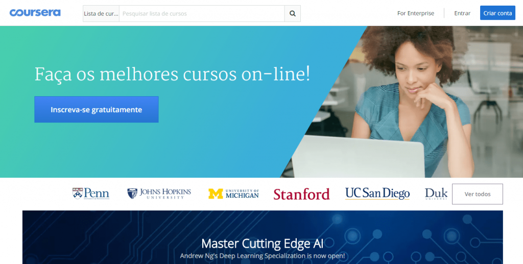 Coursera Frontpage: there's a great Ableton Live course there.