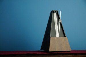 A metronome.