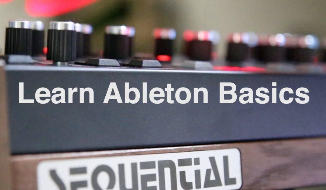 Learn Ableton Live Basics – HQ Video Walkthrough!